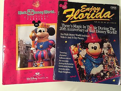 Walt Disney World memorabilia from 1992 & 20th year anniversary