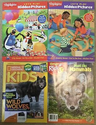 Highlights National Geographic Kids And Ranger Rick Magazine Lot