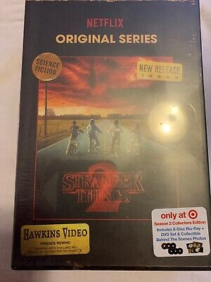 Stranger Things Season 2 Blu Ray Dvd Target Exclusive Vhs Packing + Photos