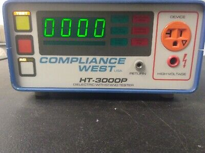 Compliance West USA Dielectric Withstand Tester Hi-pot HT-3000P