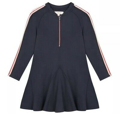 Catimini Girls  Navy Skater Dress, New With Tags, 12 Years AW19