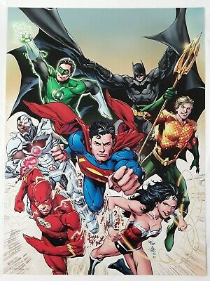 DC Comics Super Heroes 12 x 16 Inch 2-Sided Art Posters Collection - Pick Yours