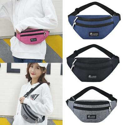 Fanny Pack Pouch Bum Bag Festival Holiday Travel Waist Belt Leather Wallet
