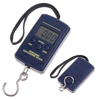 Portable LCD Digital Travel Luggage Scale Hook Hanging Weight 88lb/40kg TT-ITEM