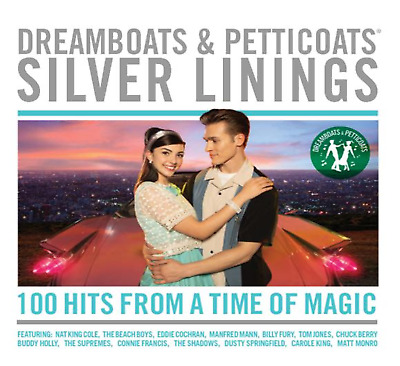 Dreamboats & Petticoats – Silver Linings VARIOUS ARTISTS 4 CD SET   NEW(8THNOV)