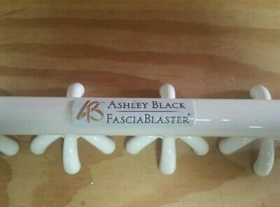 Ashley Black Fascia blaster Cellulite Fascia Full Size Blaster- used