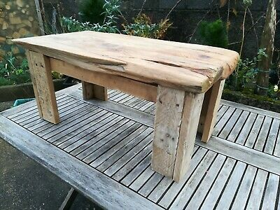 Driftwood Coffee Table Ships Timber Recycled Beach Art