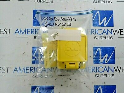 Daniel Woodhead 60W33 Female Receptacle Watertite Flip Lid Nema 5-20 20A 125V