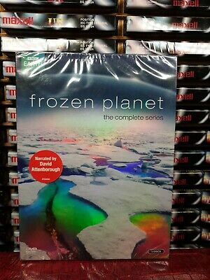 Bbc Earth : Frozen Planet (3 Dvd) : New & Sealed