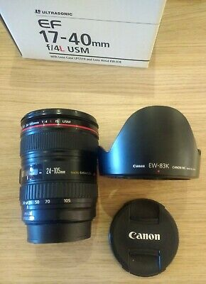 Canon EF 17-40mm F4.0 L USM Lens - EXCELLENT CONDITION