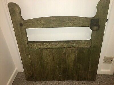Victorian Reclaimed Wooden Church Yard Gate Cottage Garden Gate Elm Solid