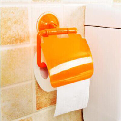 Wall Mounted Tissue Dispenser Bathroom Toilet Paper Towels Holder Roll Cover 6A