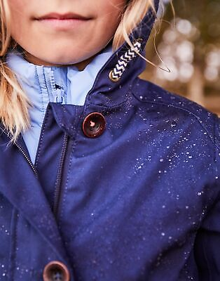 Joules Girls Coast Waterproof Jacket 3 12 Yr in FRENCH NAVY Size 11yrin12yr