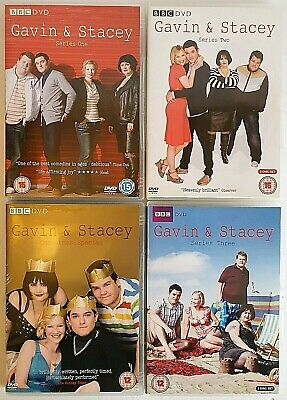 Gavin & Stacey - BBC DVD Series 1 to 3 + The Christmas Special