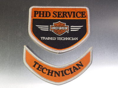 Toppa Harley Davidson Stemma originale Service Trained Technician Jached patch