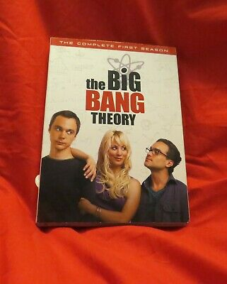 Big Bang Theory - The Complete First Season (DVD, 2008, 3-Disc Set) opened