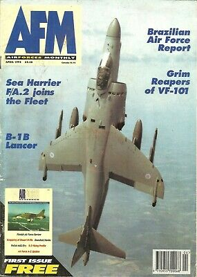 Afm. Airforces Monthly Magazine ~ April 1995 Edition