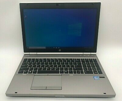 "HP EliteBook 8570p 15.6"" Core i5-3210M, 2.56 GHz,8 GB RAM, 320 GB HDD Win 10"