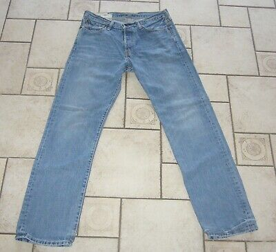 ABERCROMBIE & FITCH Jeans MASON LOW RISE Hose blau STRAIGHT BOOT CUT W32L34 W32