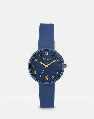 Joules Womens Coast Ladies Silicone Strap Watch in FRENCH NAVY in One Size