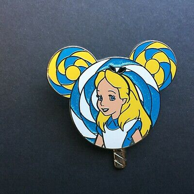 HKDL - Lollipop Mystery - Alice in Wonderland Disney Pin 121090