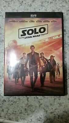 Solo a Star Wars Story (DVD, 2018) Free Shipping