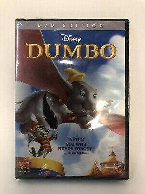 Dumbo DVD 70th Anniversary Edition New & Sealed with Slipcover Free Shipping