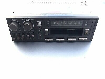 Audioline Graphic Equaliser Model 403 Vintage Car Radio Cassette Player .