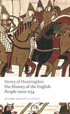 The History of the English People 1000-1154 ... by Henry of Huntingdon Paperback
