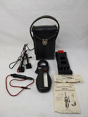 AMPROBE RS-3 Ultra Analog Clamp Meter w/Case and Box and with Amprobe Energizer