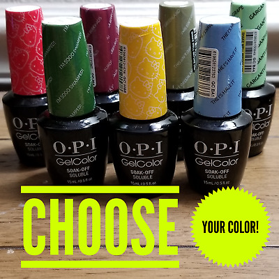 OPI GelColor Soak Off Gel Nail Polish 0.5oz/15mL - NEW - PICK YOUR COLOR