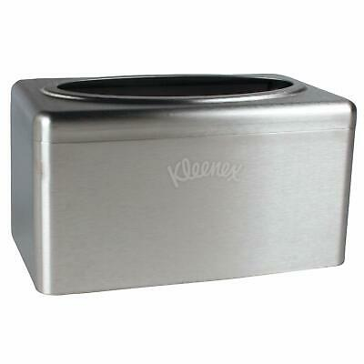Kleenex Stainless Steel Countertop Box Towel Cover (09924)- single qty item