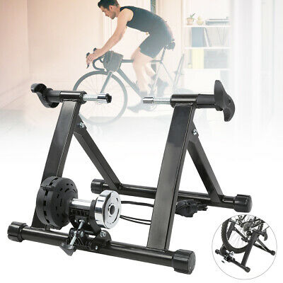 Portable Indoor Bike Trainer Stand Magnetic Resistance Bicycle Exercise Workout