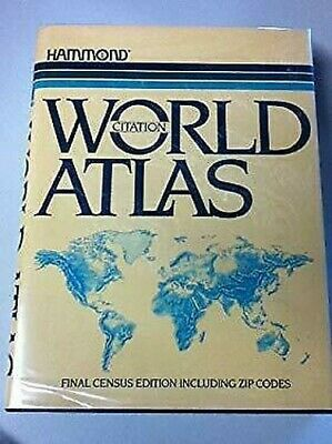 Citation World Atlas by Hammond C S and Co