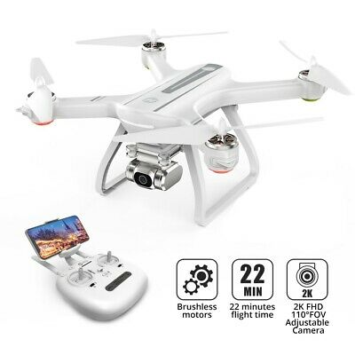 Holy Stone HS700D Brushless Drone with Full HD Camera 2K GPS RC Quadcopter White