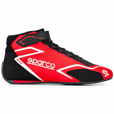 Sparco Skid Motorsport Race Boots, FIA 8856-2018 and SFI3.3/5 Approved
