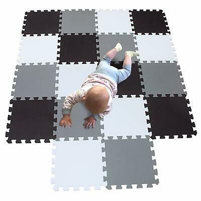 MQIAOHAM playmat Foam Play Tiles Interlocking Play mat Baby for Kids Floor mats