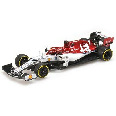 Minichamps 1:43 Kimi Raikkonen 2019 Alfa Romeo C38 417190007 *NEW IN BOX*