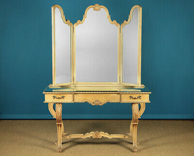 Hollywood Regency Style Painted Dressing Table c.1950.