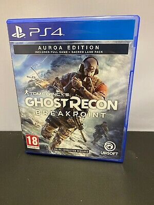 Tom Clany's Ghost Recon Breakpoint Playstation 4 Game No DLC