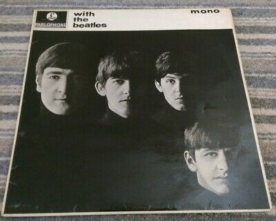 The Beatles : With The Beatles : 1963 Uk Mono  Lp