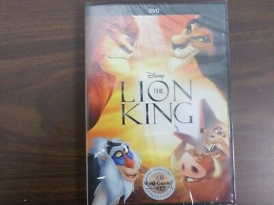 The Lion King (DVD, 2017, WS, Color, 88 minutes, Region 1, G, NTSC)