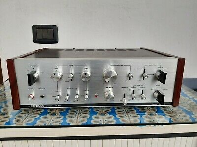 Emerson EA 5500 Vintage Stereo Ampliffier Fully Recaped