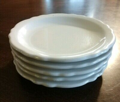 Lot 5 HOMER LAUGHLIN Best china Restaurant Colonial White Bread Butter Plate 6.5