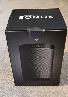 Sonos Play:1 - Black, Boxed, unopened, never used