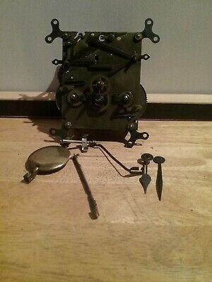 Clock Mechanism For Spares Or Repairs  Chimer