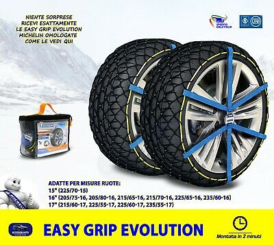 01//2010-/> CATENE DA NEVE 7MM 215//65 R16 DACIA DUSTER