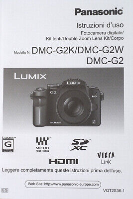 Panasonic G2 italian manual