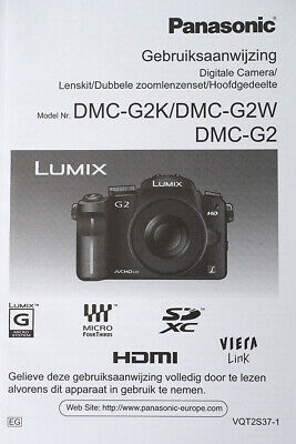 Panasonic G2 Dutch Manual
