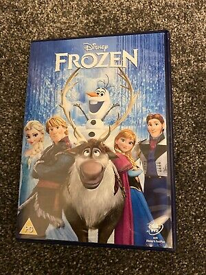 FROZEN WITH GOLD OVAL CLASSIC No 52 ON THE SPINE WALT DISNEY UK DVD VGC